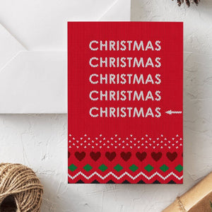 Funny Christmas Card | Last Christmas - Bettie Confetti