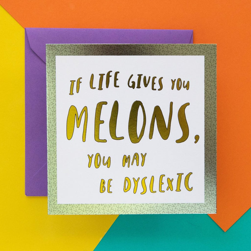 Funny Card  Life Gives You Melons - Bettie Confetti