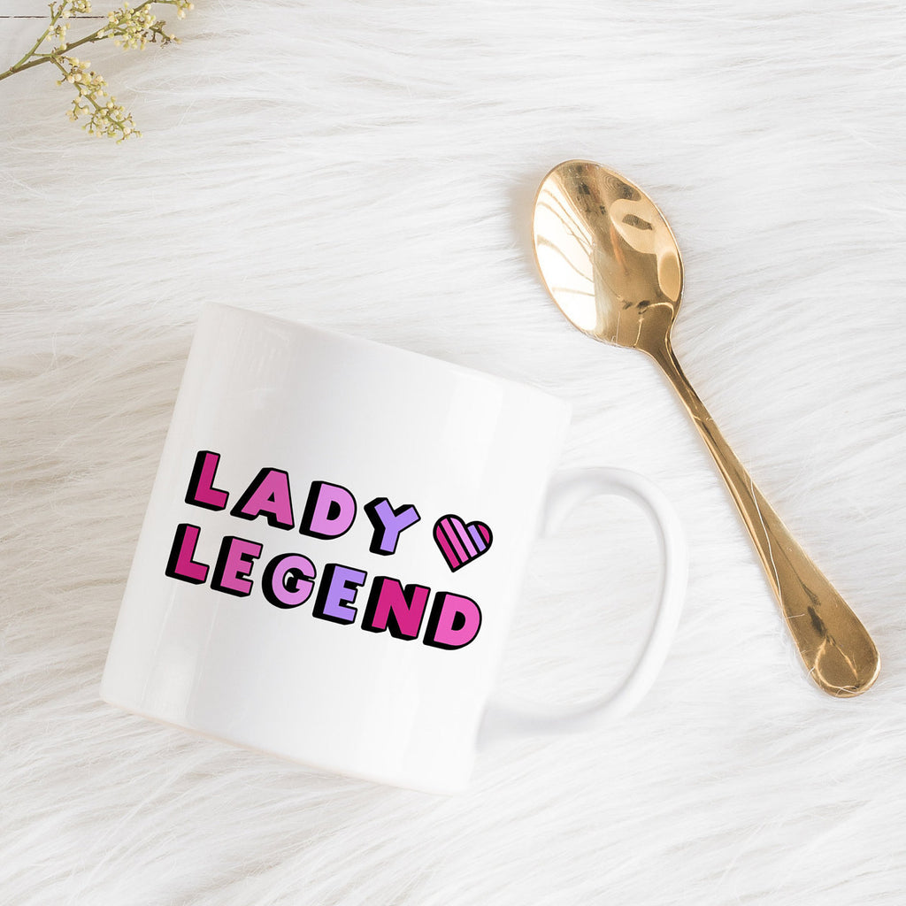Girl Boss Mug | Lady Legend-Bettie Confetti