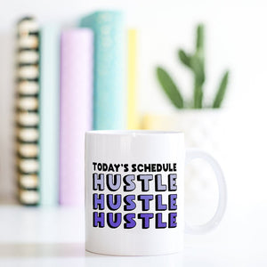 Girl Boss Coffee Mug | Hustle Hustle Hustle - Bettie Confetti