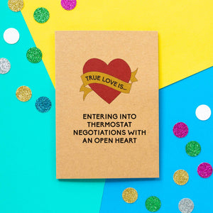 Funny Valentine's Day | Thermostat Negotiations - Bettie Confetti