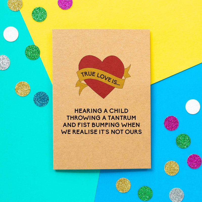 Funny Valentine's Day Card | Fist Bump - Bettie Confetti