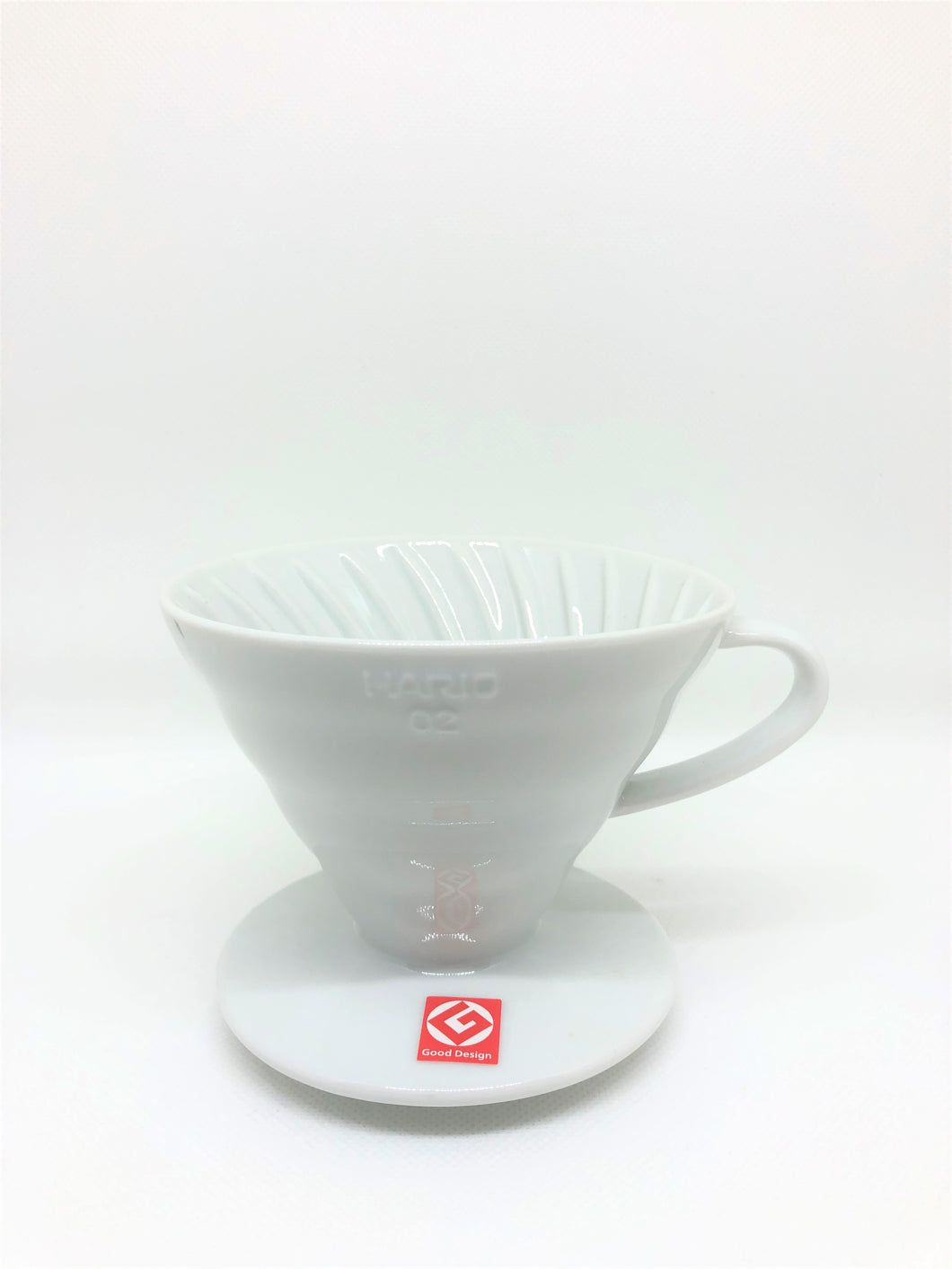 Hario V60 Ceramic Coffee Dripper White 02