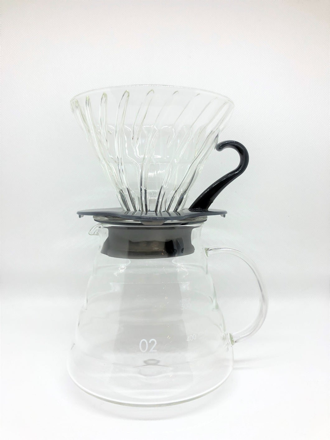 Hario V60 Glass Coffee Brewing Kit