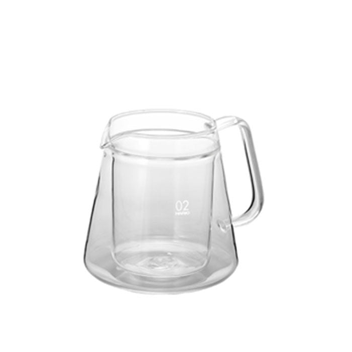 Hario V60 Double Glass Coffee Server 500ml
