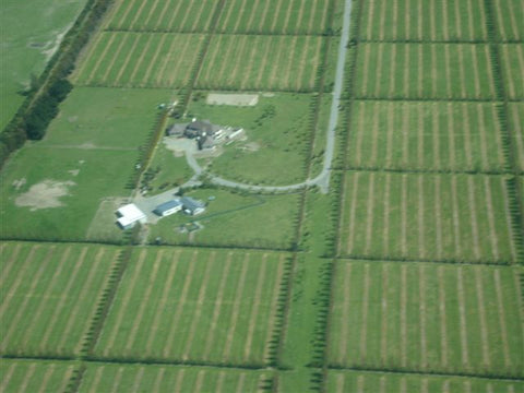 Tunlaw Farm from the air