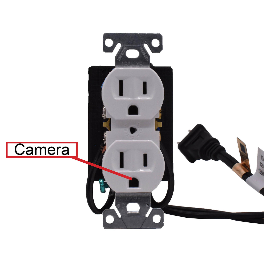 WALL OUTLET/RECEPTACLE - FREE 128GB MICROSD CARD