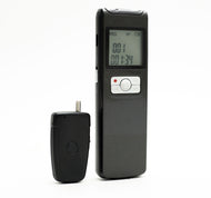 LONG DURATION VOICE RECORDER WITH 16GB MEMORY AND WIRELESS MIC