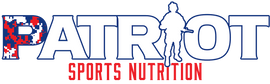 Patriot Sports Nutrition supplements logo. The best sports nutrition products. preworkout, Amino Acids, fat burner.