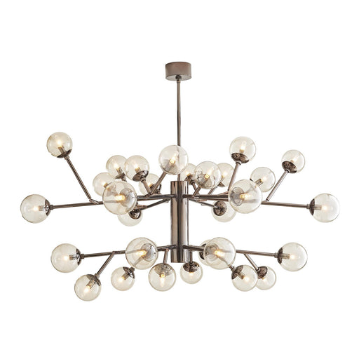 Arteriors Home Dallas Two Tiered Chandelier - Brown Nickel