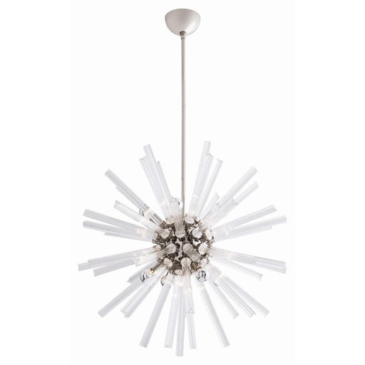 Arteriors Home Hanley Small Chandelier - Polished Nickel
