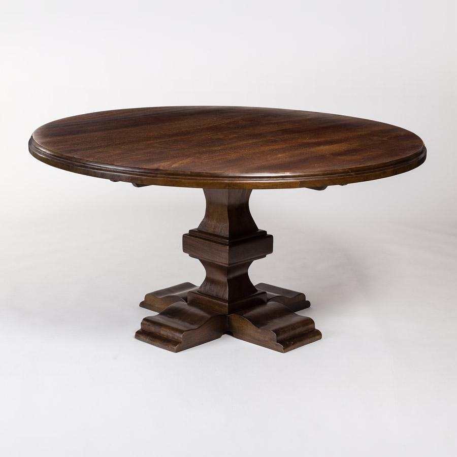 Broome + Greene Archer 84″ Round Dining Table