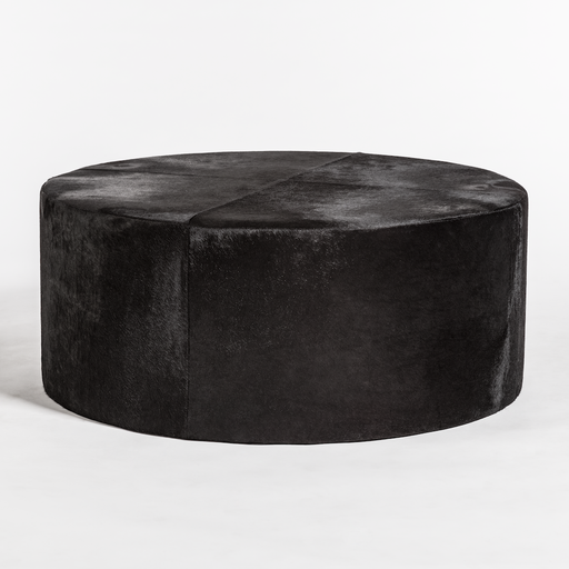 Broome + Greene Brentwood Leather Ottoman