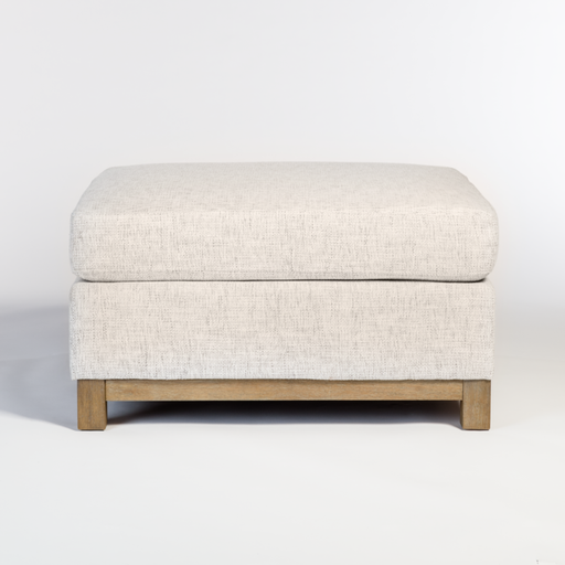 Broome + Greene Federal Ottoman
