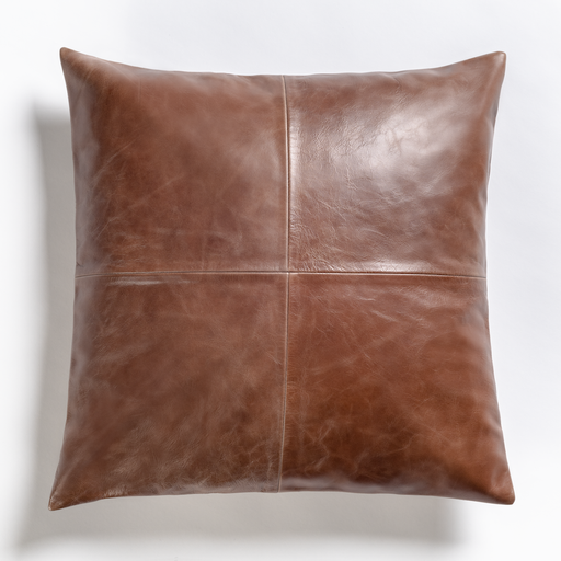 Broome + Greene Throw Pillow Sangamon 20″ Pillow in Refined Tobacco