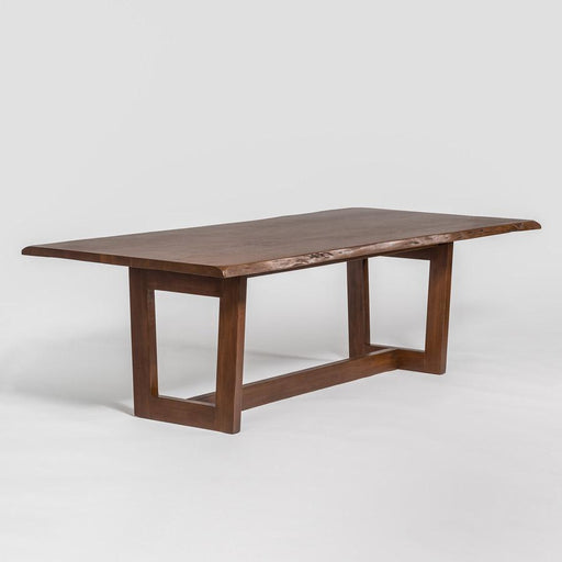"Broome + Greene Wabash 96"" Live Edge Dining Table"