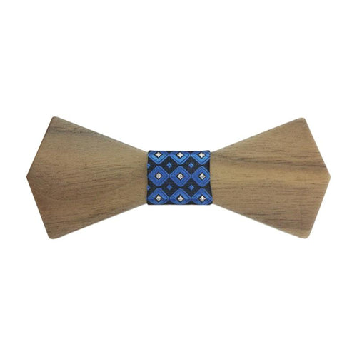 Retro Handmade Wood Bow Ties