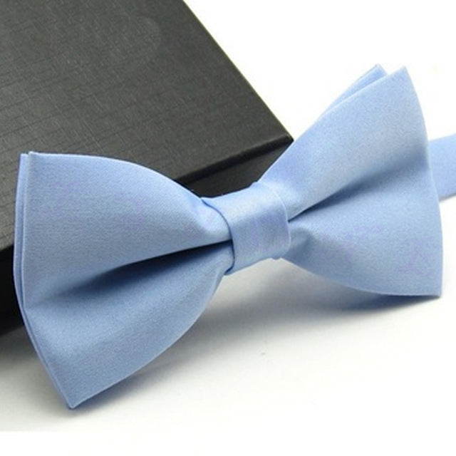Baby Blue Classic Pre-Tied Bow Tie