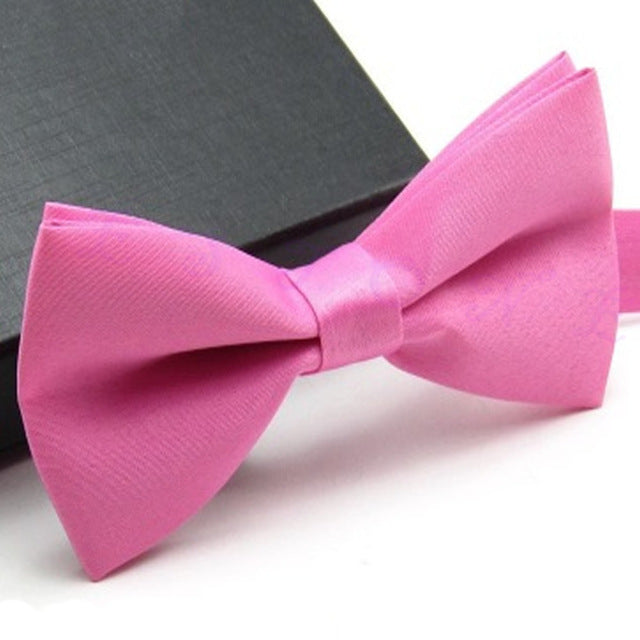 Baby Pink Classic Pre-Tied Bow Tie