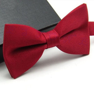 Red Classic Pre-Tied Bow Tie