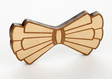 Load image into Gallery viewer, Etched Wooden Bow Ties