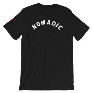 "the ""nomadic"" tee in black"