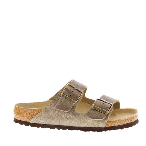 Birkenstock 'Arizona Regular' / Washed Gold Leather