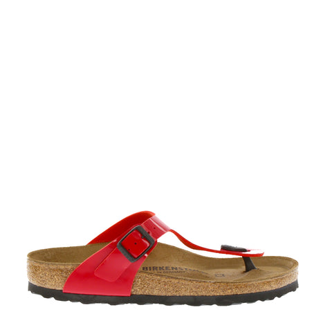 Birkenstock 'Gizeh' / Red Patent BF