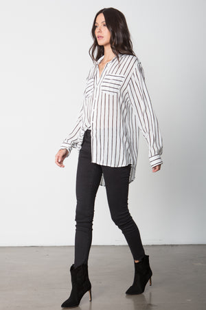 The Shirt in Black Stripe