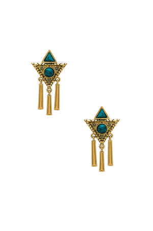 House of Harlow 1960 Durango Triangle Statement Earring