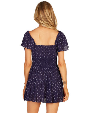 Anne Dress in Navy