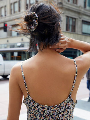 The Scrunchie in Ditsy Floral