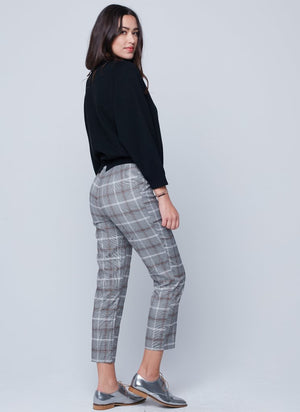 England Pant in Chocolate Plaid