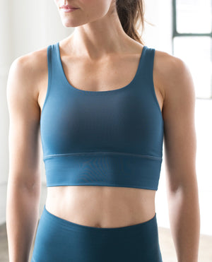 Elevate Bra in Teal