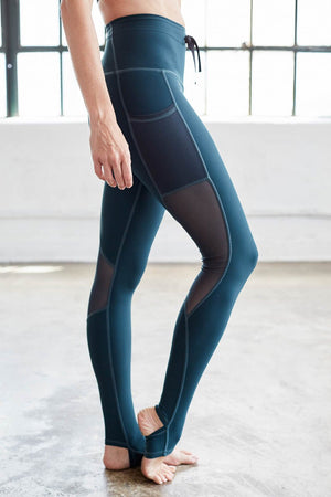 Stirrup Legging in Forest
