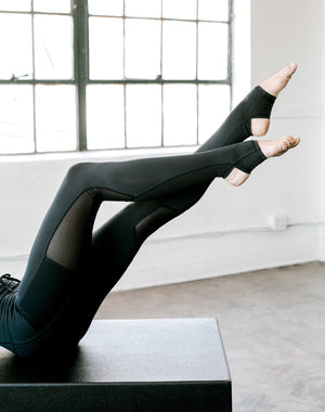 Stirrup Legging in Black