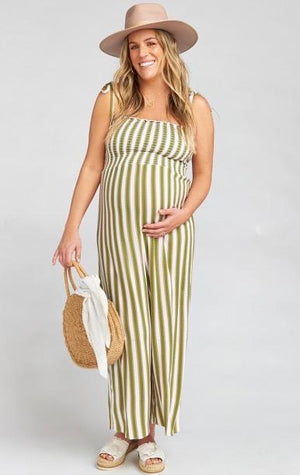 Parton Playsuit in Ciao Bella Stripe