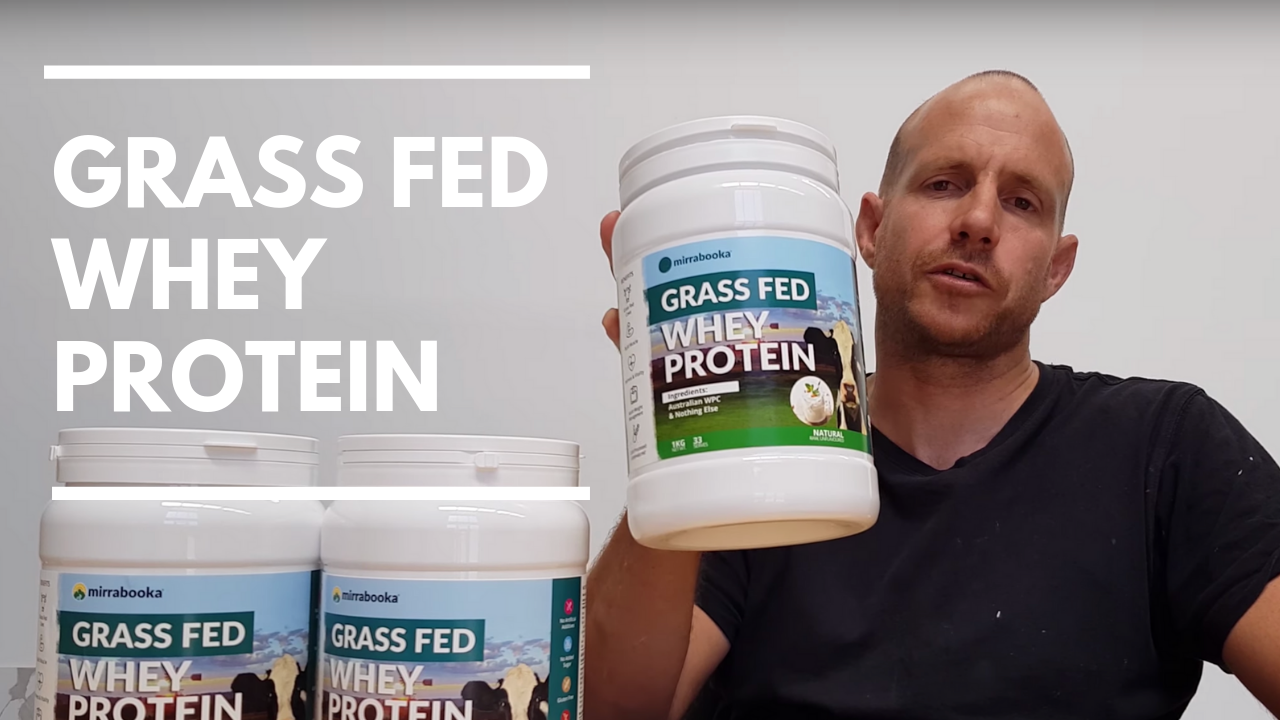 Australian Grass Fed WPC- Clean, Natural, Packed With Essential Amino Acids - Mirrabooka Protein