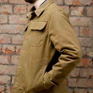 Wax Cotton Strummer Jacket