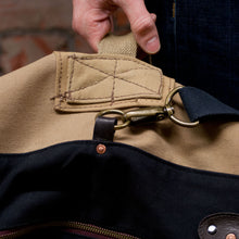 Load image into Gallery viewer, Canvas Tan Duffle XLarge (RE-S002)