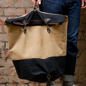 Canvas Tan Duffle XLarge (RE-S002)