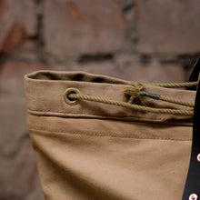 Load image into Gallery viewer, Canvas Tan Tote Large (RE-S001)