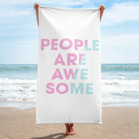 People are Awesome Lip Towel
