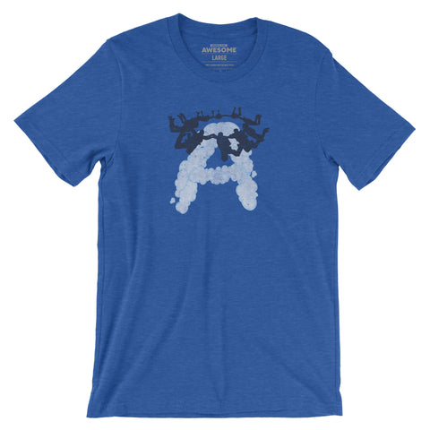 Awesome Skydive Formation T-Shirt