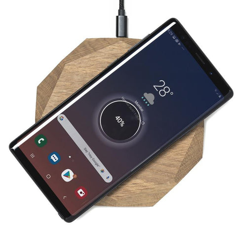 Wood Wireless Charger - Oak