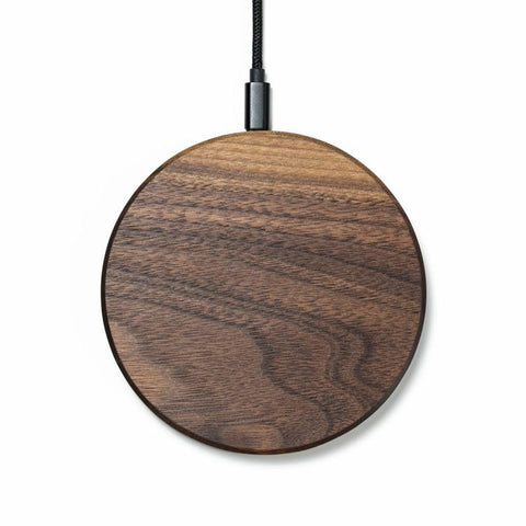 Slim Wood Wireless Charger