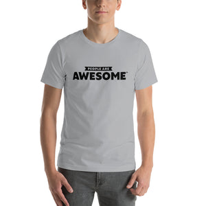 People Are Awesome Logo T-Shirt (Black Logo)