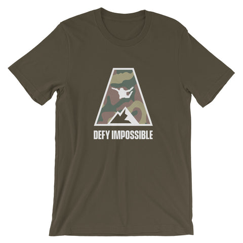 Defy Impossible Camo T-Shirt - Army