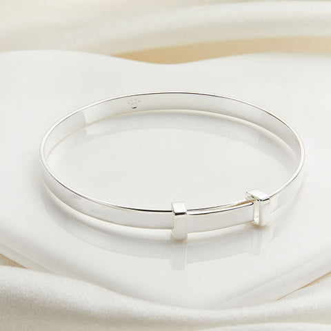 Molly Brown New Baby Christening Bangle