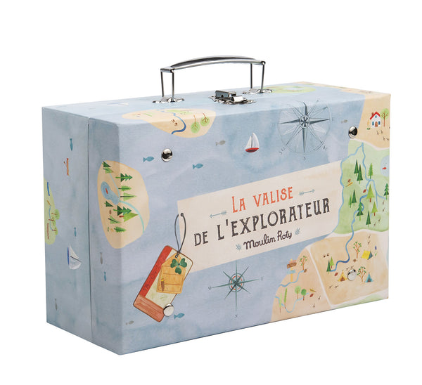 L'Explorateur Le Jardin Explorer Suitcase - Lovingly Signed